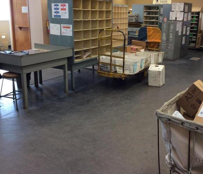 Post Office in Crockett County Suffered Water Damage After