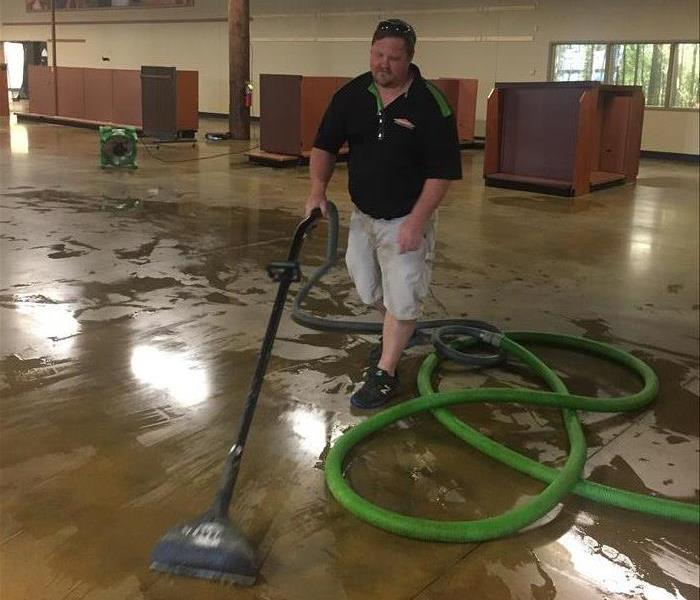Flood in Jackson business